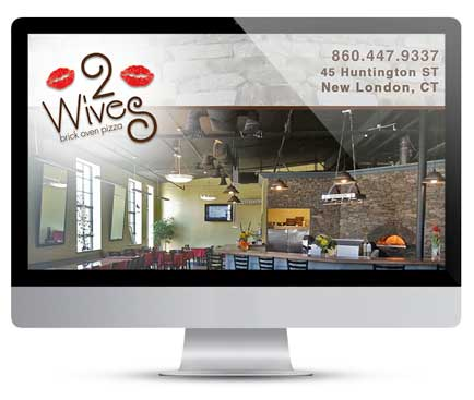 Graphic-Design-2Wives-Brick-Oven-Pizza
